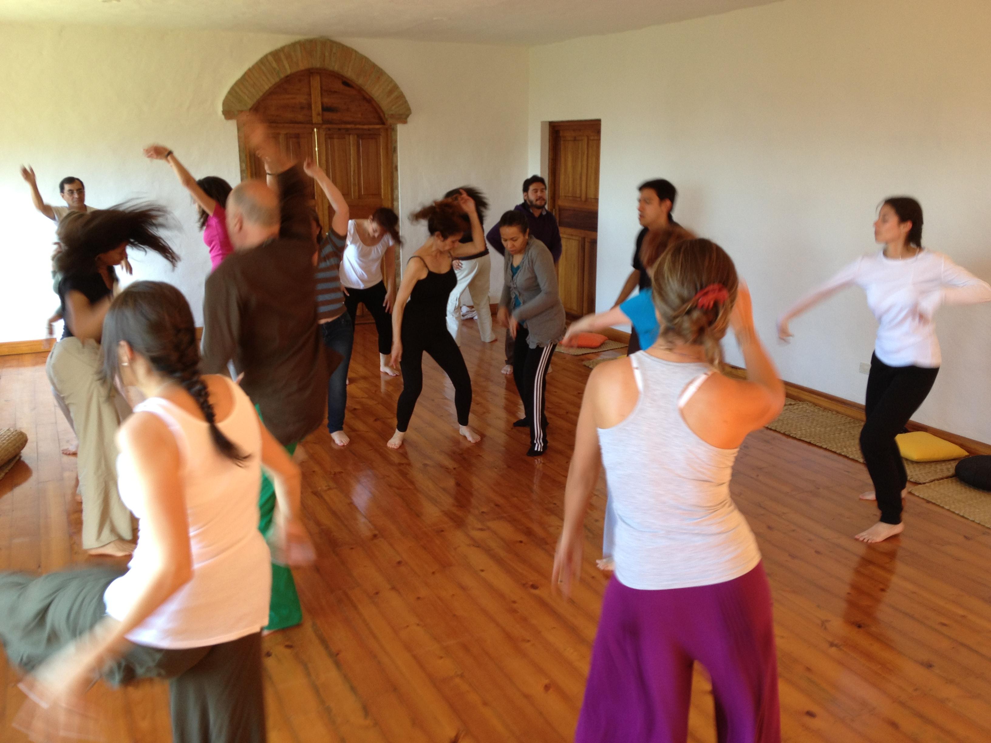 Trabajo corporal con Core Energética