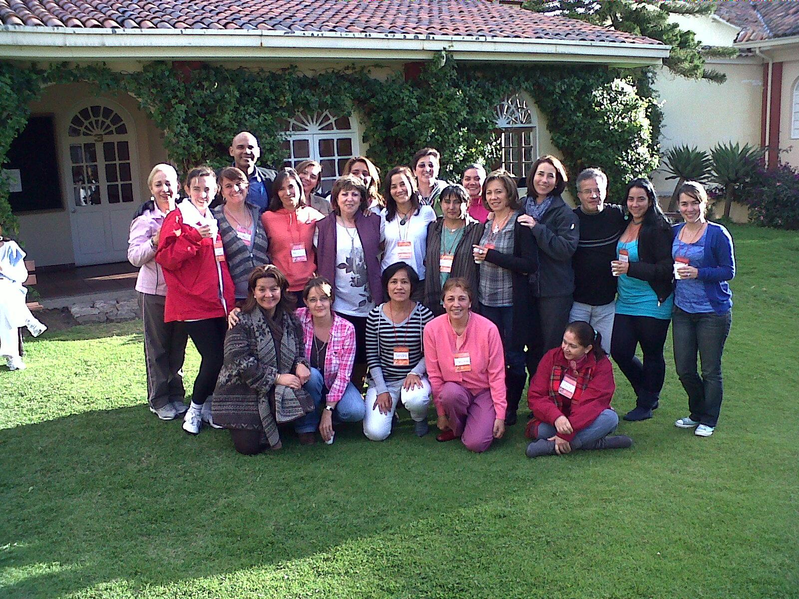 Grupo en formación de Constelaciones Familiares
