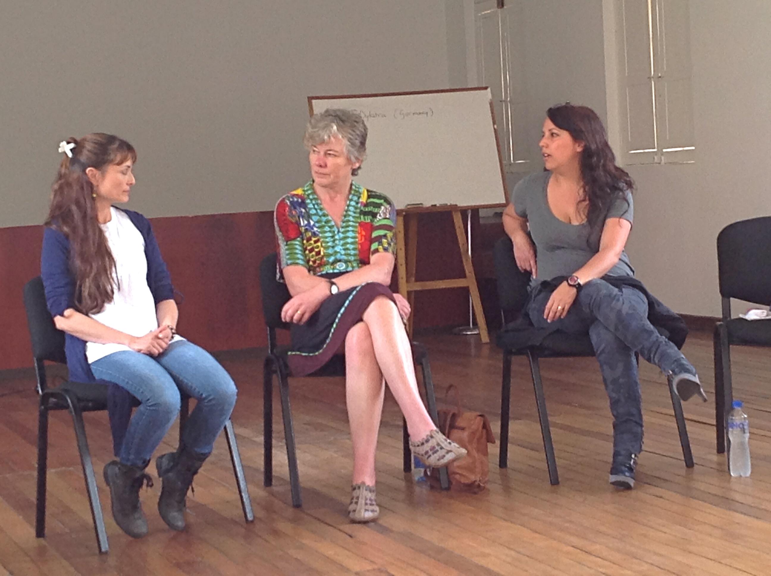 Taller de Pedagogía Sistémica con Bibi Schoeder
