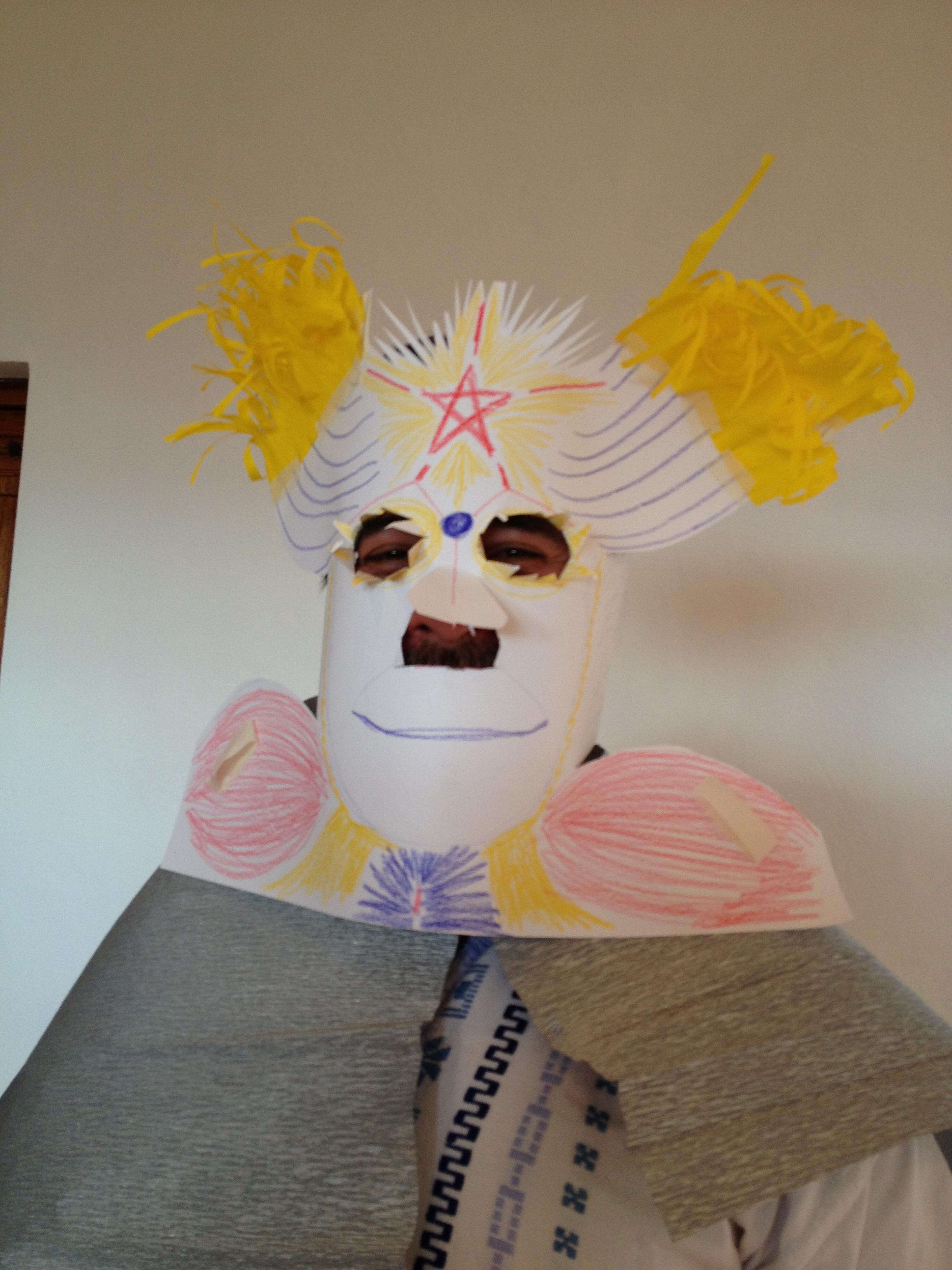 Trabajo con la máscara