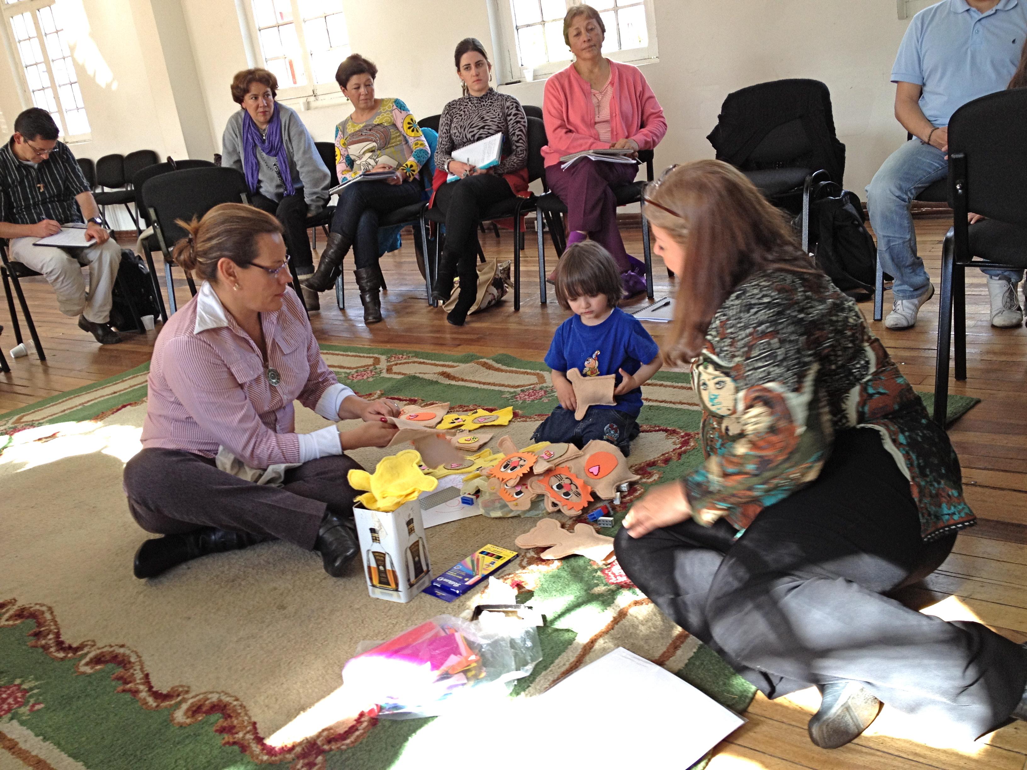 Práctica de Terapia Ericksoniana con Cecilia Robles, directora del Centro Ericksoniano de México
