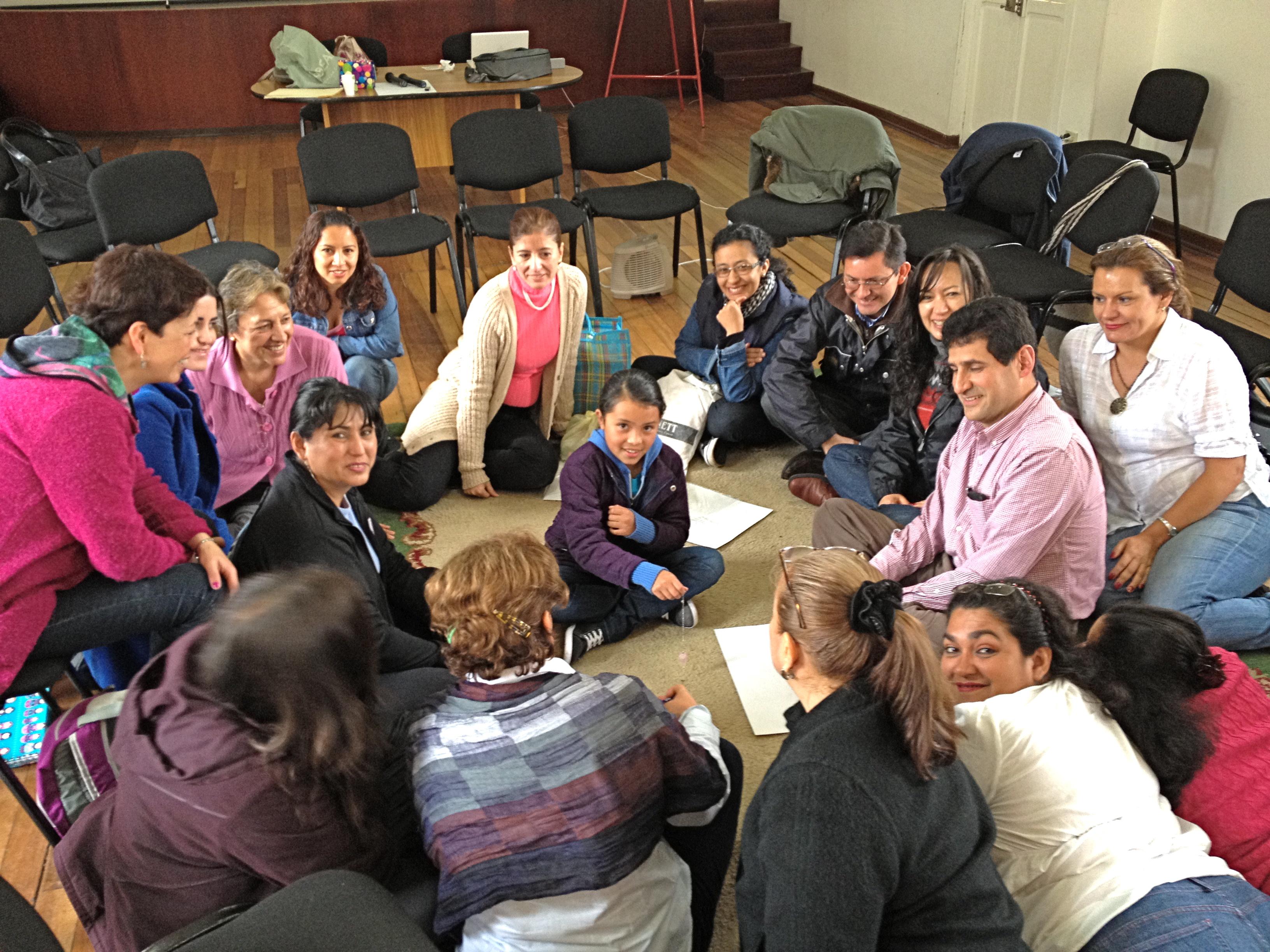 Práctica de Terapia Ericksoniana con niños realizado por Cecilia Fabre, directora del Centro Ericksoniano de México
